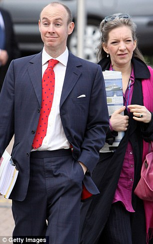 Daniel Hannan MEP, left, said he was astounded by the expenses on offer to his colleagues in Brussels