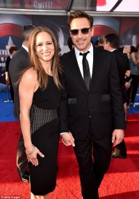 Robert Downey Jr and wife Susan thrilled at Captain ...