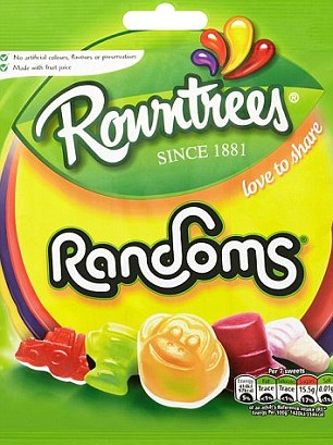 Rowntrees Jelly Tots Sharing Bag