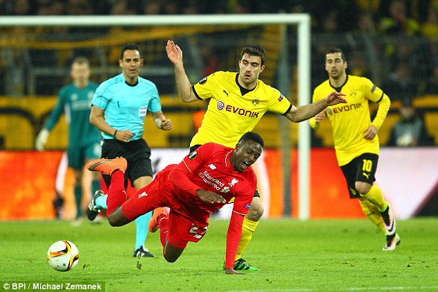 Liverpool face a crunch clash with Borussia Dortmund in the second leg of their Europa League quarter-final