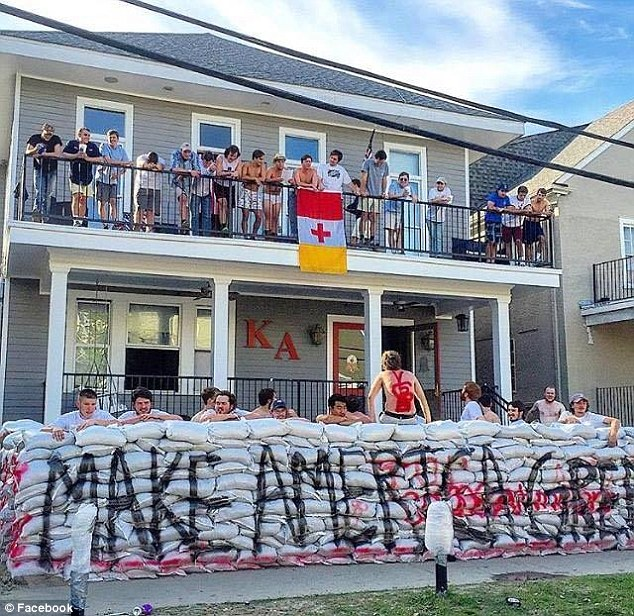 Tulane University Fraternity Causes Uproar After Erecting 'Donald