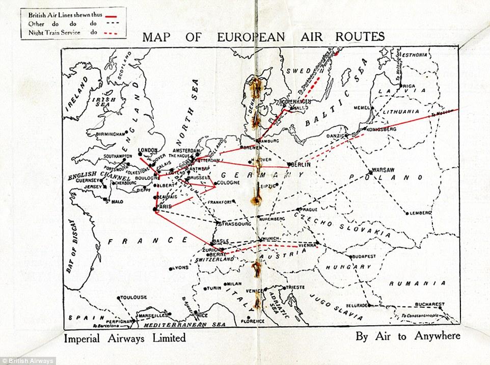 British Airways' Heritage Centre curator Paul Jarvis