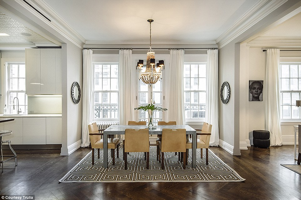 unfinished kitchen table and bath showrooms uma thurman is selling her manhattan duplex for $6 ...