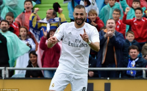 Benzema was in yards of space and was able to finish easily  to continue his prolific campaign for Zinedine Zidane's side