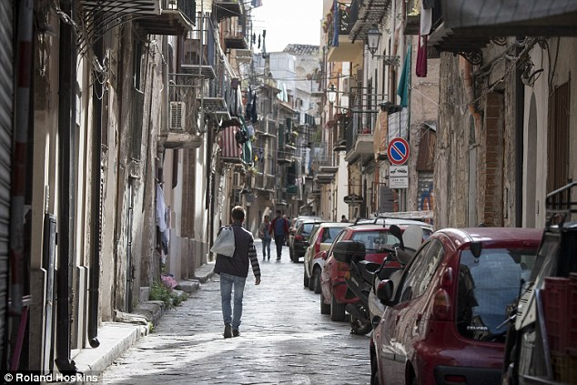 Gangs: Experts say that African criminal gangs have entered Sicily alongside law-abiding migrants, sparking fears of a bloodbath between the mafia and its new competition