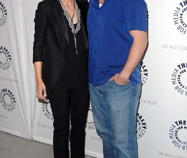 Castle Stars Stana Katic And Nathan Fillion Pictured In March