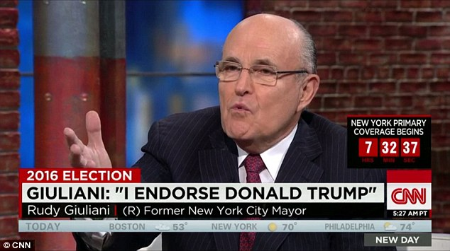 Image result for photo of rudy giuliani on mike gallagher show
