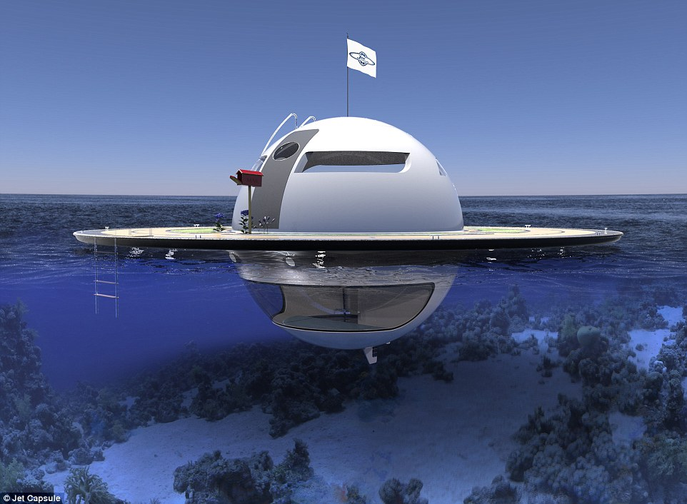 Unidentified Floating Object Concept Yacht Looks Like An