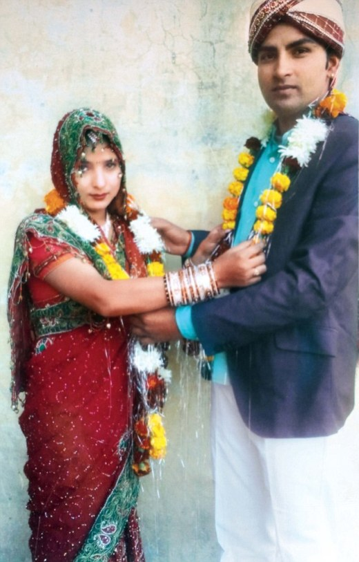 Manjeet and Sapna initially sought protection from the area's senior superintendent of police after eloping together by motorbike