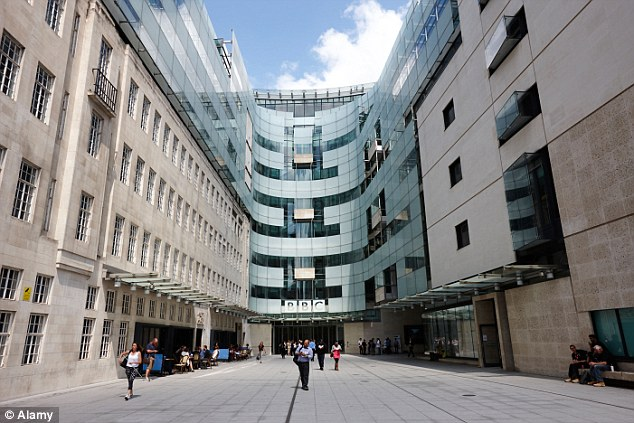 Career: Deitch worked for the corporation (whose Broadcasting House in Central London is pictured) for 12 years and was responsible for purchasing programmes on behalf of other broadcasters