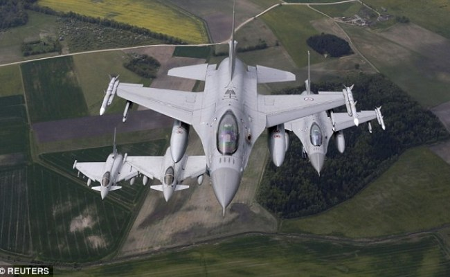 Norwegian Fighter Jet Makes 300 Mile Dash In 25 Minutes To