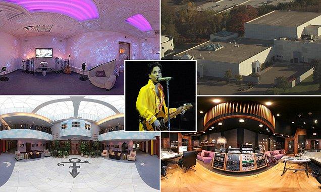 Princes 10m Paisley Park estate in Minnesota revealed