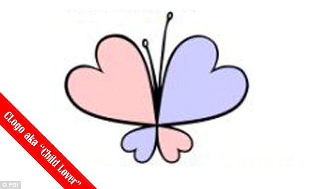 Any gender: Pedophiles who do not have a preference of gender use the ChildLover logo, which is a butterfly