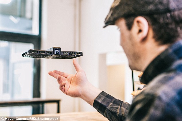 Image result for A flying camera will now take your selfies from mid-air!
