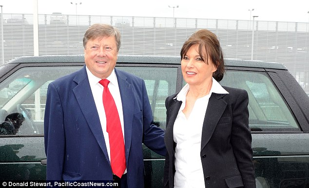 Parents: Melania's mother and father Viktor and Amalija Knavs (above in 2011). Viktor has a son who is Melania's half-brother