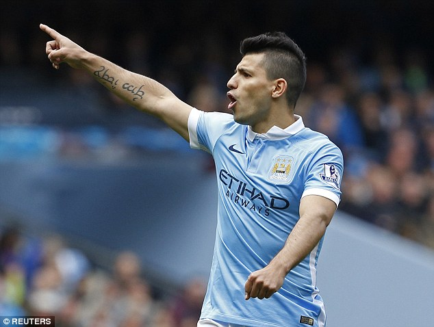 Against the Saints, Sergio Aguero bids to score in six consecutive Premier League games for the first time