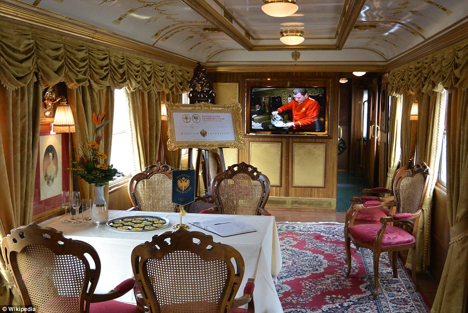 Majestic Imperator Train de Luxe in Vienna on sale for 10