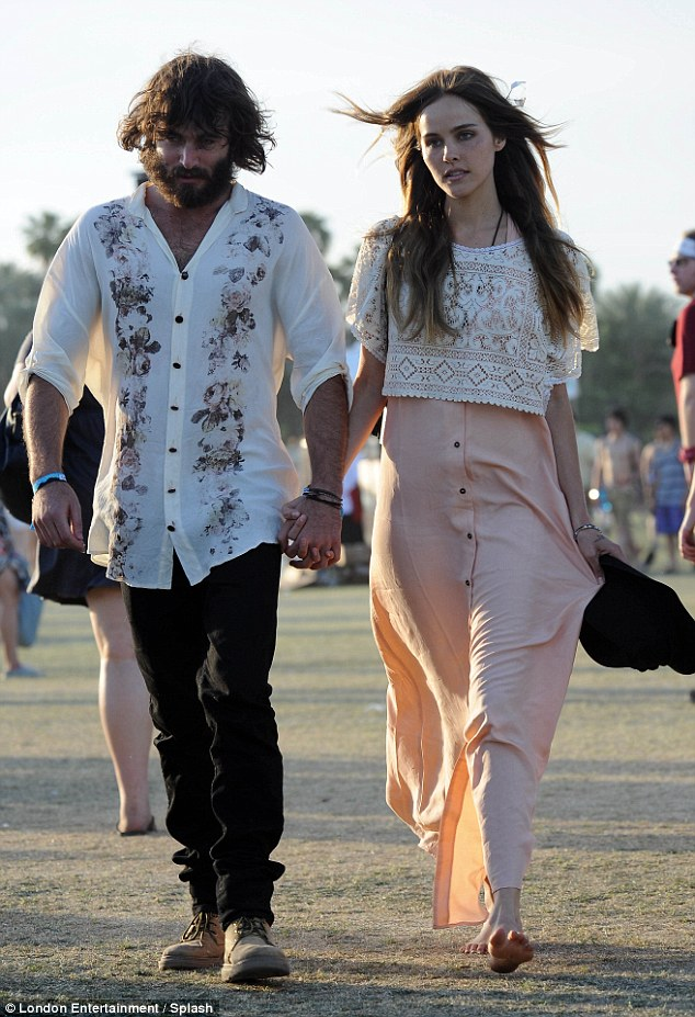 Isabel Lucas and Angus Stone