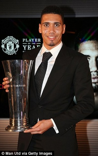Smalling said it was a huge honour to join some of the star names who have won Players' Player in the past