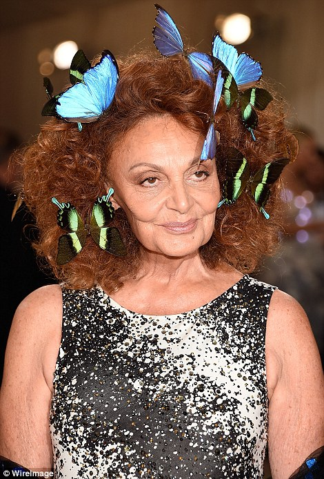 Interesting additions: Diane Von Furstenberg and Bette Midler brought the term 'fascinators' to a whole new, bizarre, level