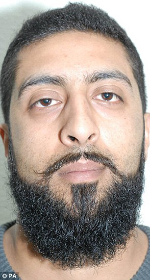 Pc Amar Tasaddiq Hussain (pictured), 29, sparked a major terror alert by making a hoax 999 call to his own force