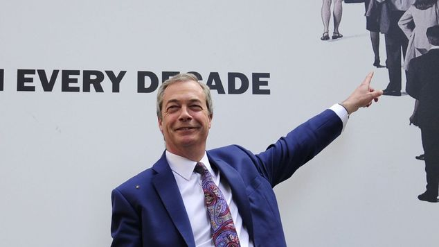 Nigel Farage is the leader of Ukip