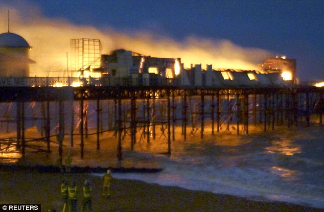 Image result for hastings pier