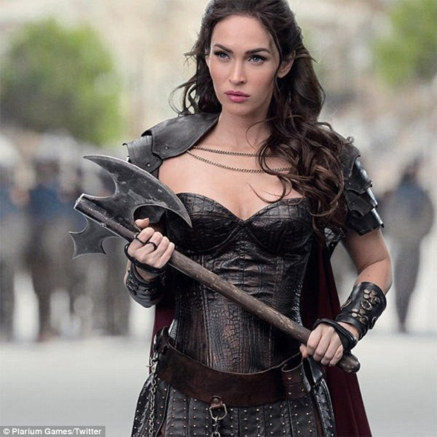 Fall Masquerade Fantasy Art Wallpapers Megan Fox Looks Fierce In A Warrior Costume For Mobile
