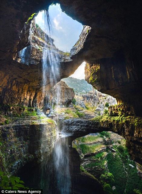 Amazing Falls Wallpaper Baatara Gorge Waterfall Described As One Of The Wonders