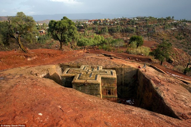 North of Addis is fabled Lalibela: legend says angels helped build the warren of 12th-century churches. Marvel at the precision of  vast, subterranean, monolithic buildings, carved out of solid rock
