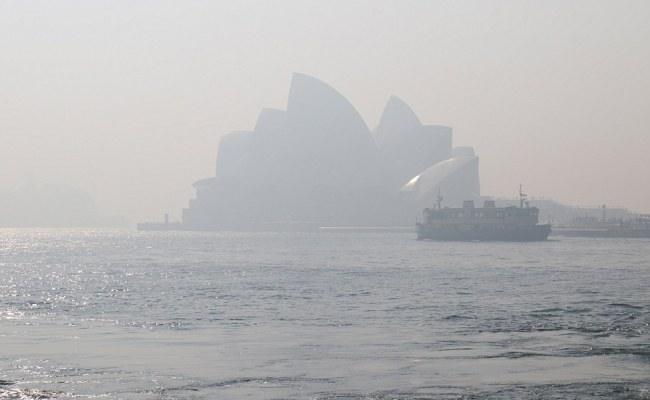 Sydney Smoke Appears From Bushfire As Residents Warned To