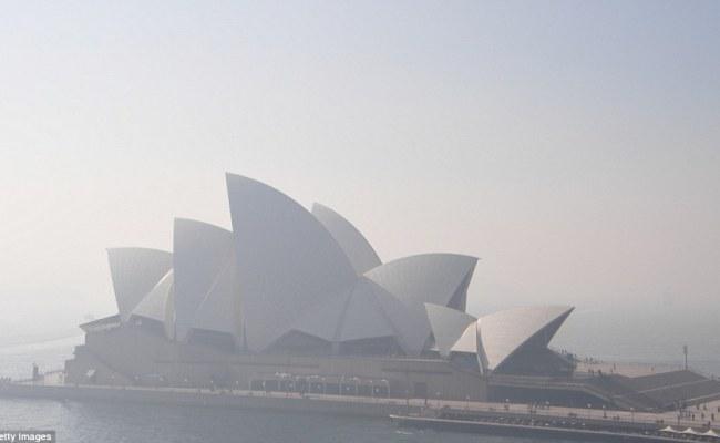 Sydney Smoke Appears From Bushfire As Residents Warned To