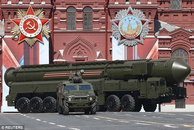 Earlier this year, a Yars RS-24 intercontinental ballistic missile system was paraded through Red Square during the Victory Day parade but there was no sign of the RS-28 Sarmat