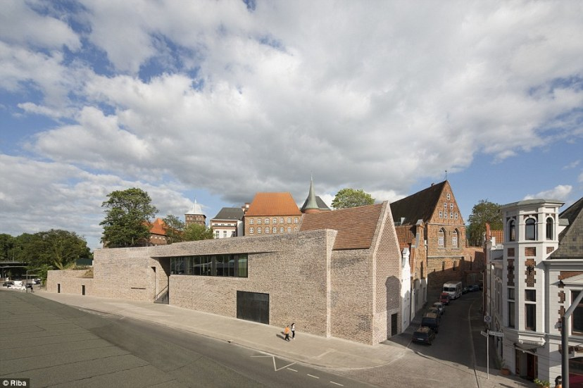 The European Hansemuseum inLübeck, Germany is a home for an unrivalled collection of archives about the Hanseatic League, a trading community that grew up around the Baltic. The building is both modern and keenly aware of the city's history