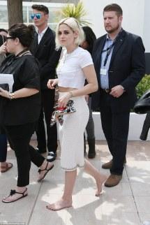 Cannes Kristen Stewart Feet