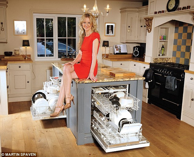 kitchen dishwashers remodeling kansas city you ll never have to put your crockery back in the cupboards lynda has two her and admits she would love a third