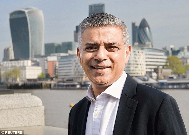 A spokesman for Mr Khan refused to say if the mayor, pictured on his first day at work at City Hall, will return the £15,000