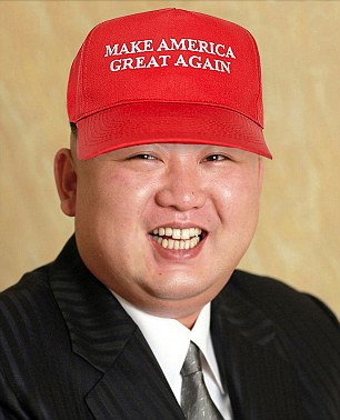 Image result for donald trump kim jong un meme