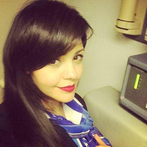 EgyptAir azafata Samar Ezz Eldin
