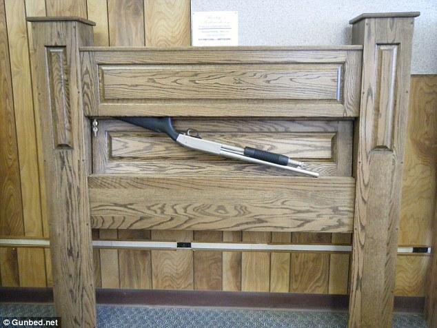 NJ Concealment Furniture Conceals Guns Daily Mail Online