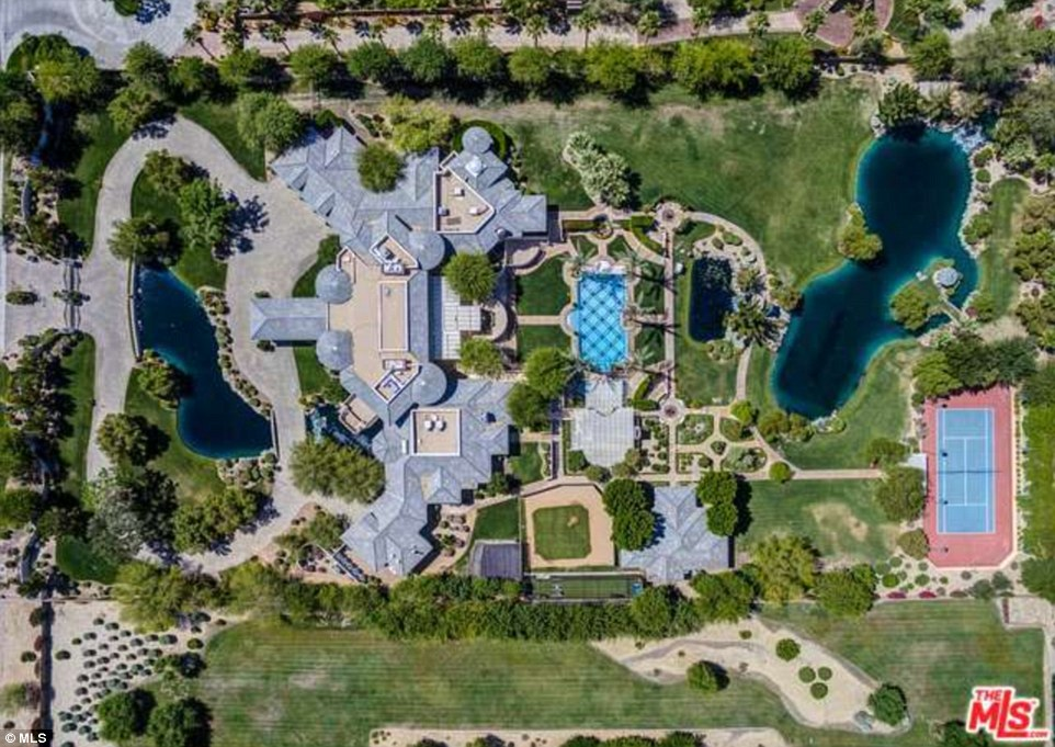 Oakland Athletics outfielder Coco Crisps stunning estate