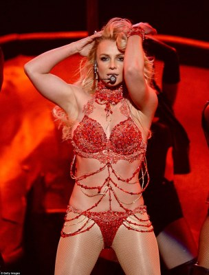 Setting the tone:The 34-year-old set the performance bar very high on Sunday evening at Las Vegas' T-Mobile Arena as she danced and sung her way through an over five minute long set