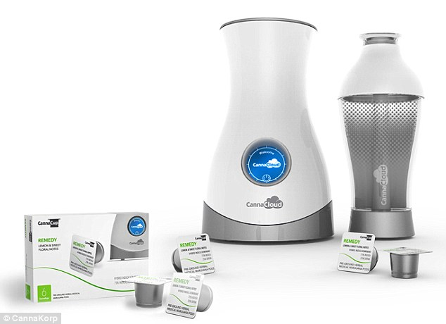 CannaKorp has developed what is being hailed the ¿Keurig for weed¿ ¿ a vaporizer that releases marijuana from single-serving pods. Users place the cannabis filled pod of their choice in the CannaCloud, push a button and within a minute can pull the vaporizer out and ¿enjoy a convenient and efficient vapor¿