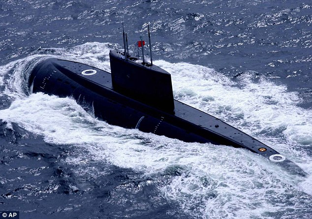 Chinese submarines armed with nuclear warheads will begin patrols into the Pacific Ocean this year, Pentagon officials believe (file image)
