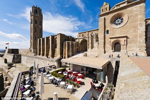 The Seu Vella (Old Cathedral) in Lleida, Catalonia. The local bishop has ordered all priests, monks and volunteers to obtain a certificate proving they are not paedophiles