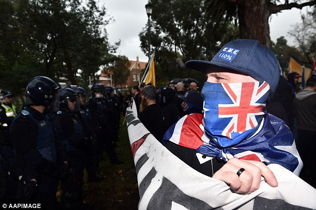 A special taskforce will be created to catch protesters who covered their faces with flags and masks during ugly clashes between anti-Islam and anti-racism groups