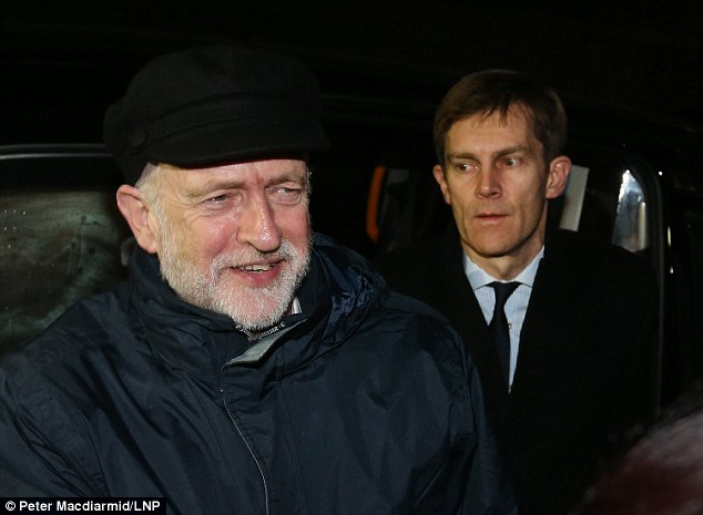 Image result for picture Jeremy Corbyn Seamas Milne