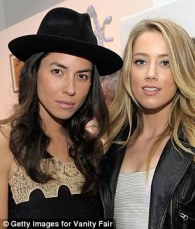 Image result for amber heard and her girlfriend
