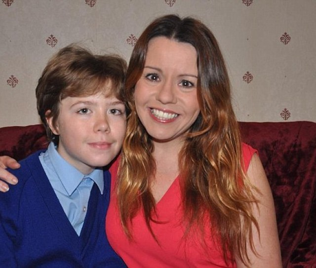 Journalist Kelly Rose Bradford 42 With Her Son William 13 Kelly Doesn