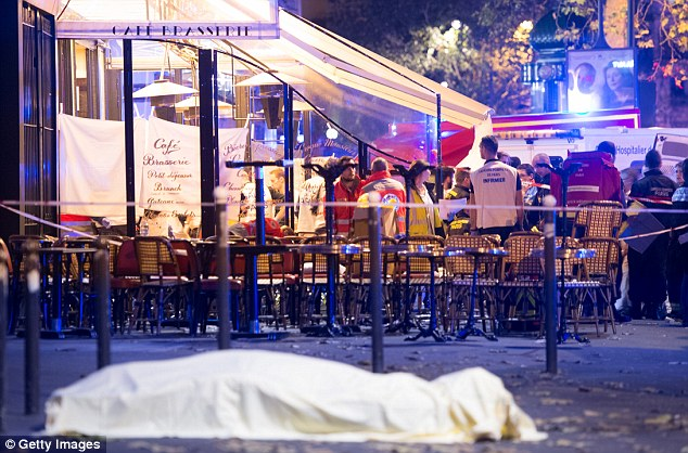 Crowded entertainment venues were said to be 'right at the top of the agenda' after the Paris attacks at the Bataclan theatre (pictured) killed 130 people last November